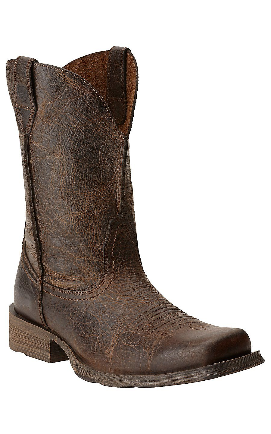 Ariat Men Rambler Wide Square Toe Western Cowboy Boot