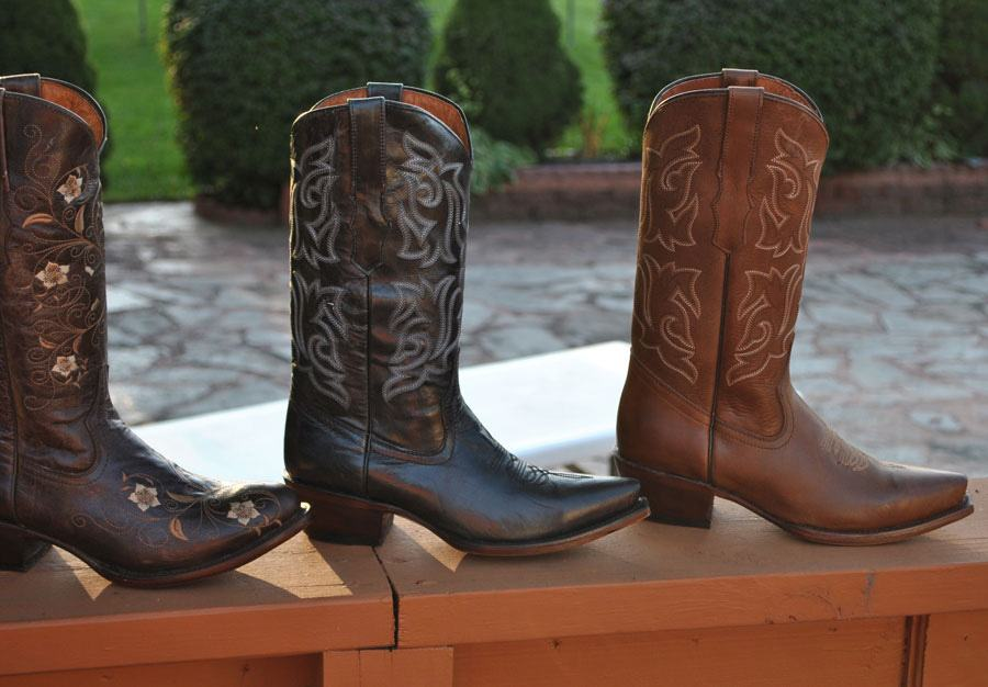 Traditional Cowboy Boots Design