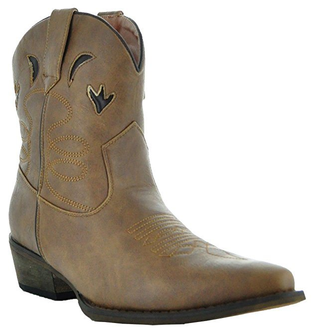 Country Love Boots Southwest Short Boots