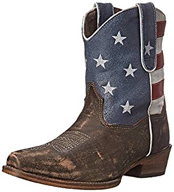 Roper Womens American Beauty Western Boot