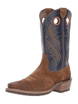 ariat mens heritage roughstock venttek western cowboy boot