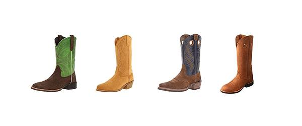 mens Suede cowboy boots 5 stylish pairs you can snag right now