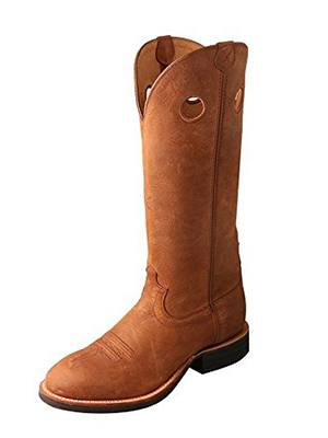 twisted x mens oiled suede buckaroo cowboy boot